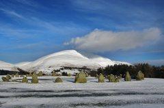 Rock Climbing Photo: 3000BC stone Circle Keswick .. Photo 14th Jan 2016
