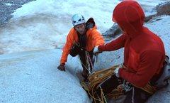 Rock Climbing Photo: dead bird athletes in patagucci land