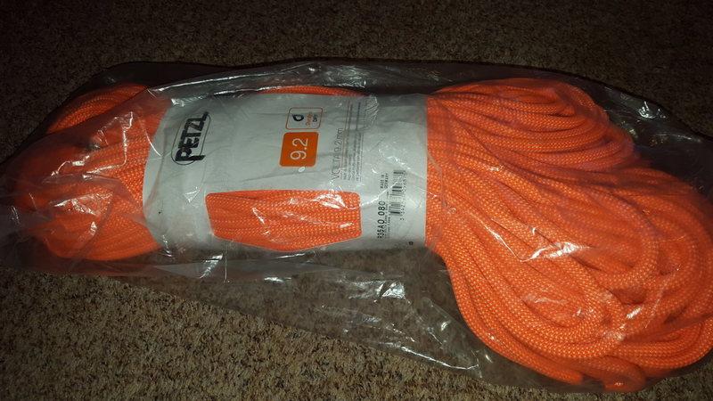 80m x 9.2mm rope