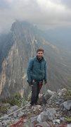 Rock Climbing Photo: Summit of Time Wave Zero