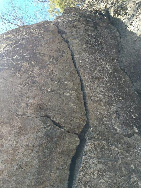 Rock Climbing Photo: Upper part.