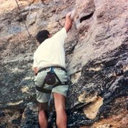 Rock Climbing Photo: 2001 The Original Beginning.