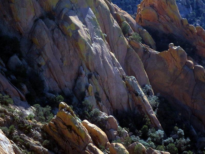 Rock Climbing Photo: Climbers on Warpaint