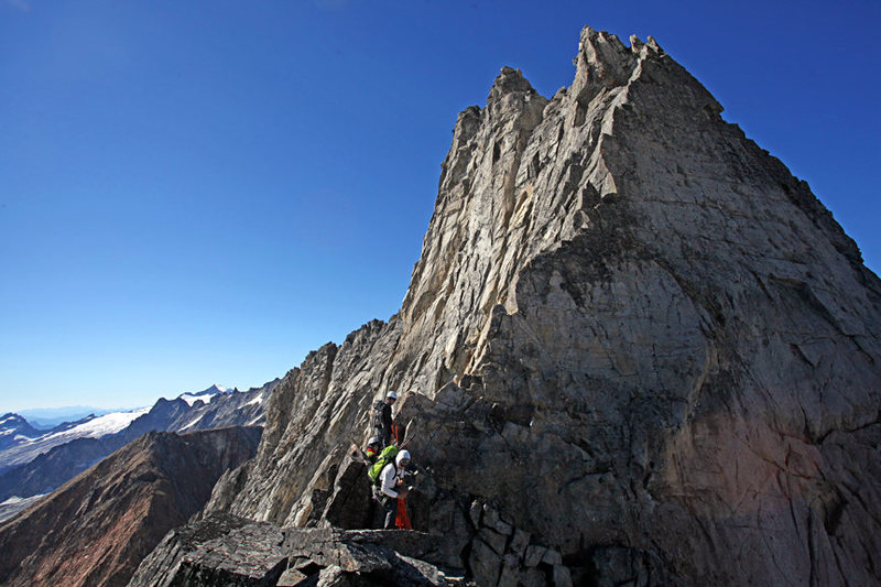 Rock Climbing Photo: Cascade ridge rompin'