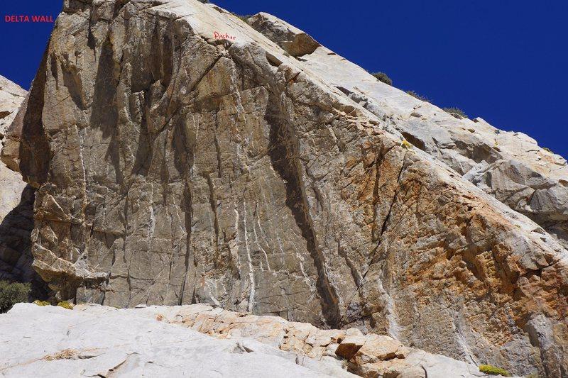 Rock Climbing Photo: Delta Wall