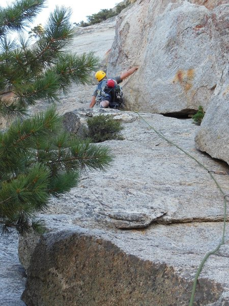 Rock Climbing Photo: The fantastic first pitch of Fingertrip.