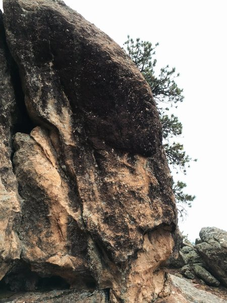 The Thailand boulders south arete