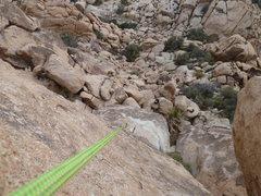Looking down on George's Route (aka Binder)