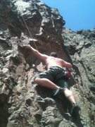 Rock Climbing Photo: A canyon we camped in and decided the face would b...