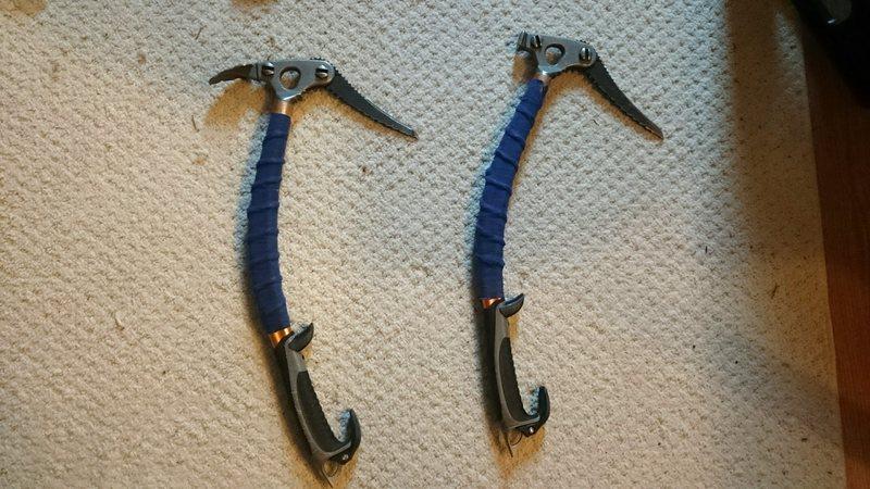 Rock Climbing Photo: Viper Ice tools