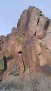 Rock Climbing Photo: Code Brown