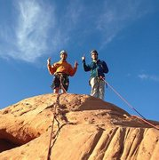 Rock Climbing Photo: Owl Rock. Aint never ran from nothing but the poli...