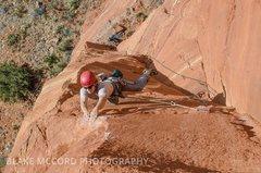 Rock Climbing Photo: Try...
