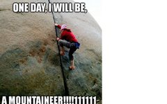 Rock Climbing Photo: training for other things...