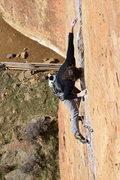 Rock Climbing Photo: last part of lower magic