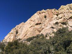 Rock Climbing Photo: This is the south wall of Rogowski's Rib. Lots...