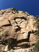 Rock Climbing Photo: Another section of the south wall of the Long Rib,...