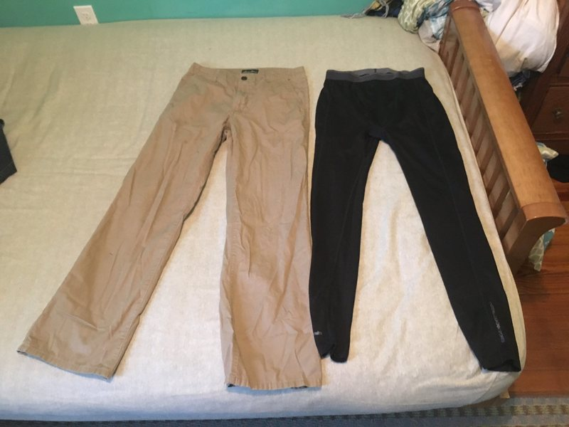EB pants/ EMS Tights size small