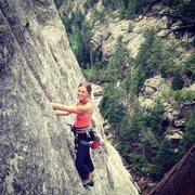 Rock Climbing Photo: Time Traveler in Upper Dream Canyon