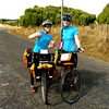 Riding my bike to Helen's wedding on the North Island, New Zealand