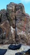 Rock Climbing Photo: Face Out.