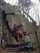 Rock Climbing Photo: Kyle H. Owens. Please remember the H.