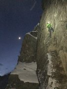 Rock Climbing Photo: Jay Karst at M3 crag and taking some laps on Pis-A...