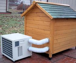 Pet Cool 2500 BTU & Air conditioning a tent?