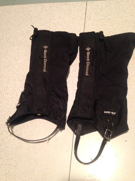 Rock Climbing Photo: Frontpoint Gaiters