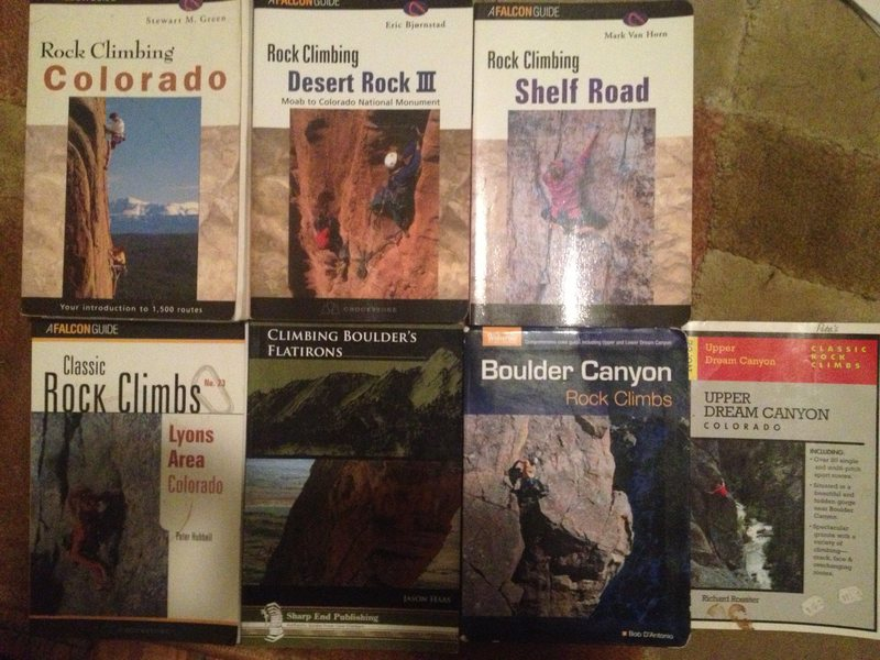 Rock Climbing Photo: Colorado Guidebooks