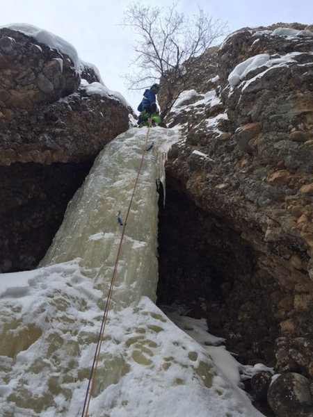 Rock Climbing Photo: Deep Throat Maple 1/16/16