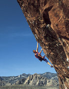 Rock Climbing Photo: John Bachar free-soloing The Gift