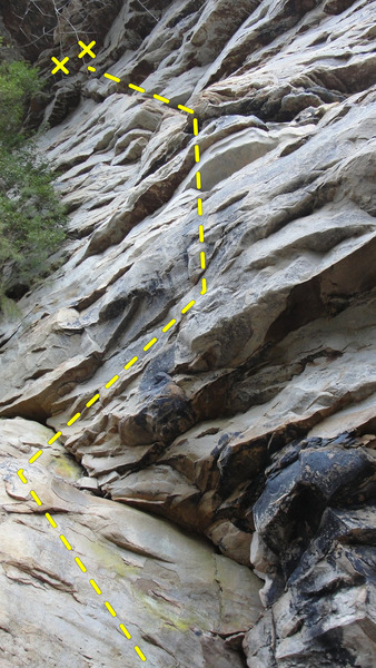 Rock Climbing Photo: Wild and Scenic- 11c.