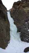 Rock Climbing Photo: Ken coming down P4.  These pitches have a fun cany...