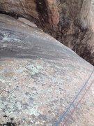 Rock Climbing Photo: Top of The Tube.
