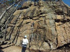 Rock Climbing Photo: On the Goblin