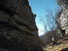 Rock Climbing Photo: Fun Arete, Good holds