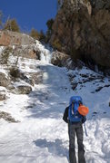 Rock Climbing Photo: Thicker conditions, nice for a first lead of the s...