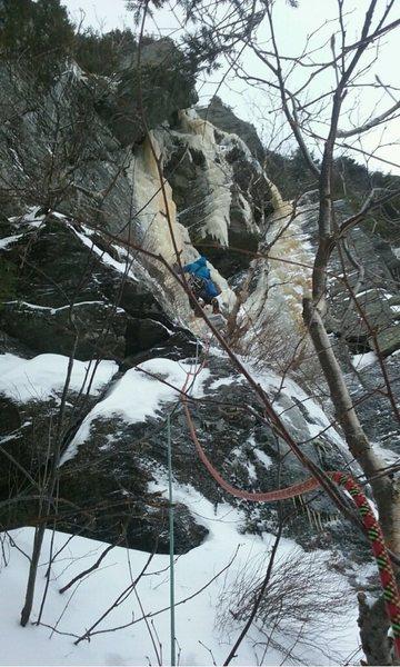 Rock Climbing Photo: Short but burly.
