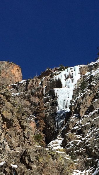 Rock Climbing Photo: Blue Condition.