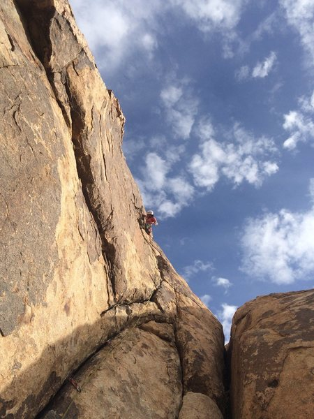 Rock Climbing Photo: Mid day in January.