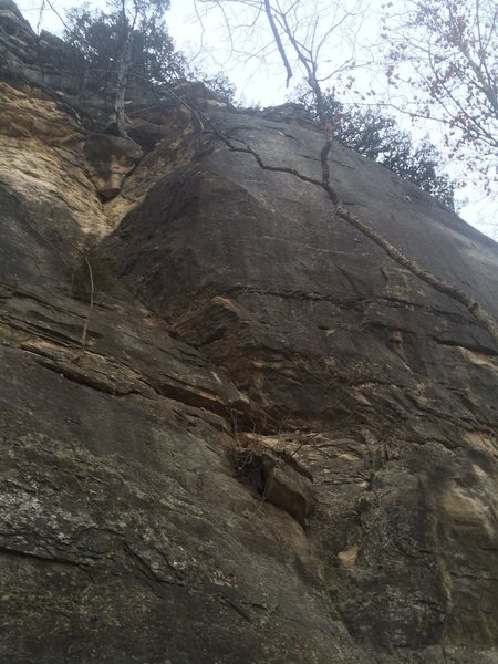 Rock Climbing Photo: Outer Edge (Arete)