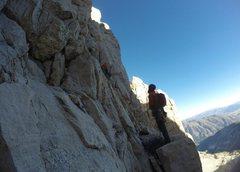 Rock Climbing Photo: Start of first pitch.