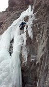 Rock Climbing Photo: 2013 during Ice Fest with Colby and Sally.