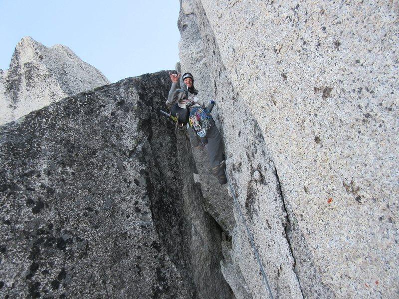 Rock Climbing Photo: chugging up the BC