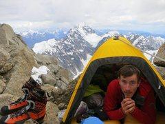 Rock Climbing Photo: The Latok Summit, on Angel peak in Alaska's Revela...
