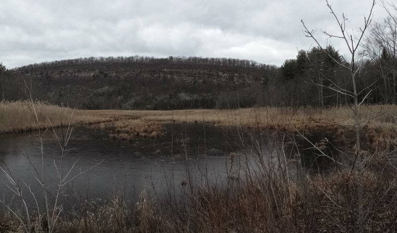 Rock Climbing Photo: Green Pond Cliffs from Green Pond Rd, NJ