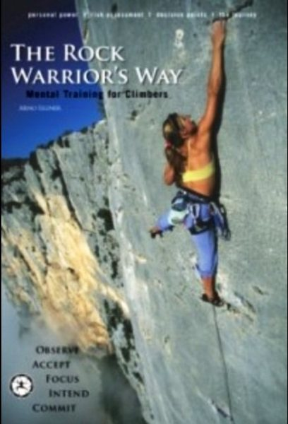 Rock Climbing Photo: Front cover of the rock warriors way