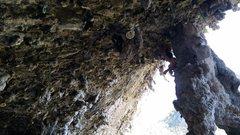 Rock Climbing Photo: Ceslo Pina 5.12c, Cueva de la Cumbia, Mexico