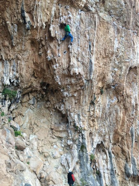 Rock Climbing Photo: Lower part of Poema di Roca